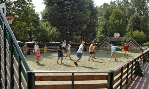Activités Football, terrain multisports au Camping Le Paradis