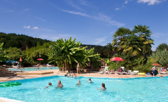 Camping Le Paradis Piscine Pataugeoire