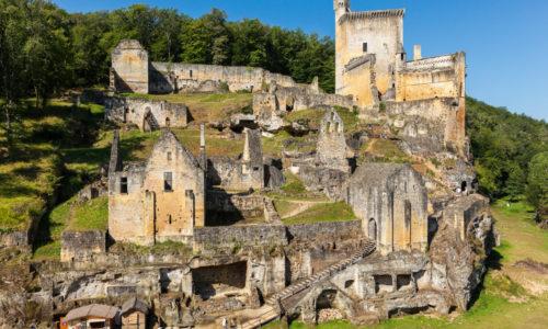 Région Chateau de Commarque à 10 minutes du Camping Le Paradis
