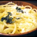 Spaghetti met Salie