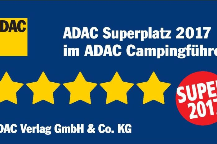 "Camping Le Paradis rewarded by the ""ADAC Superplatz 2017"""