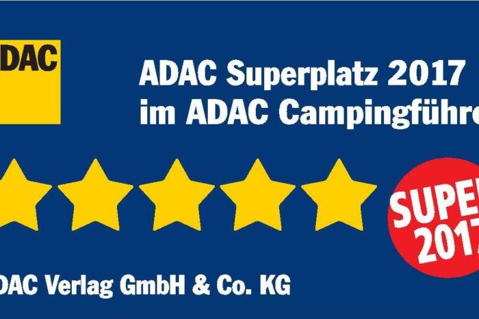 """""""ADAC Superplatz 2017"""" voor camping Le Paradis"""