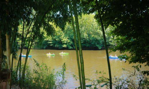 Camping Le Paradis - Bord de rivière - Canoë