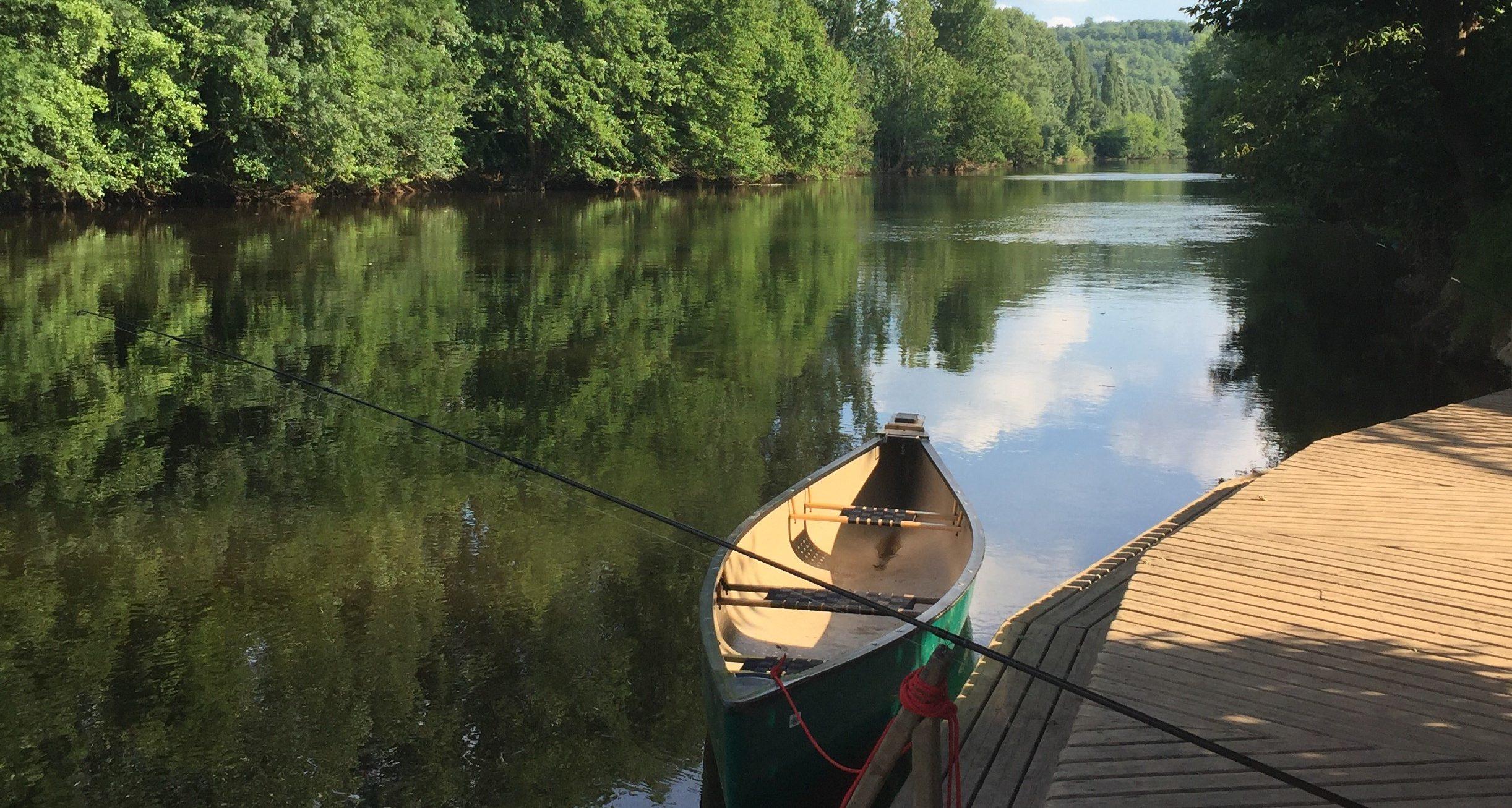 pêche au camping Le Paradis